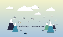 Leadership Luncheon 2017