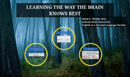 LEARNING THE WAY THE BRAIN KNOWS BEST