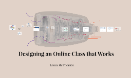 Tools to Help You Develop on Online Class that Works
