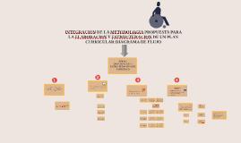 INTEGRACION DE LA METODOLOGIA PROPUESTA PARA LA ELABORACION