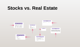 Stocks vs. Real Estate