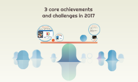 3 core achievements and challenges in 2017