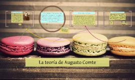 Copy of La teoría de Augusto Comte