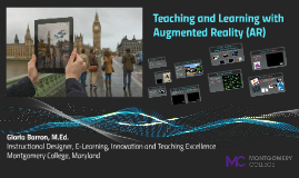 Teaching and Learning with Augmented Reality