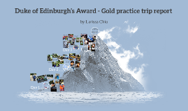 Duke of Edinburgh's Award - Gold Practice trip report