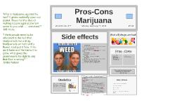 Pro -Con Marijuana