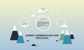 EVEREST: LEADERSHIP AND TEAM SIMULATION