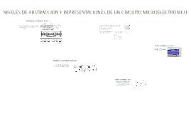 NIVELES DE ABSTRACCIÓN Y REPRESENTACIONES DE UN CIRCUITO MIC