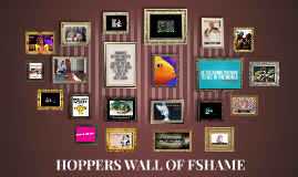 Hoppers Wall of Fame