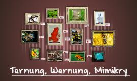 Tarnung, Warnung, Mimikry
