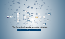 The Canadian Open Government Initiative