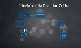 Principios de la Discusión Crítica