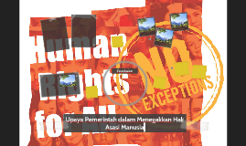 Upaya Pemerintah dalam Menegakkan Hak Asasi Manusia