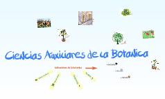 Ciencias Auxiliares de la Botanica