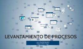 Copy of LEVANTAMIENTO DE PROCESOS