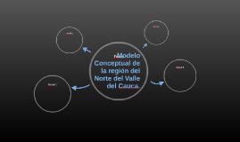 Modelo Conceptual de la región del Norte del Valle del Cauca