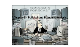 Marketing - Chapter 3 - Political and Economic Analysis