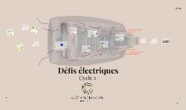 Défis électriques