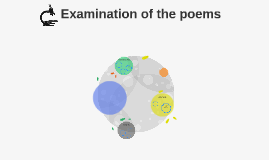Examination of the poems
