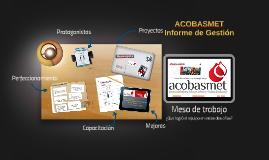 Presentación ACOBASMET