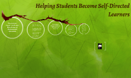 Helping Students Become Self-Directed Learners