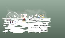 Cerveza Artesanal de Arandano.