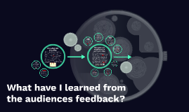 What have I learnt from the audiences feedback?