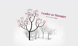 Leader as a Manager