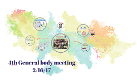 4th General body meeting