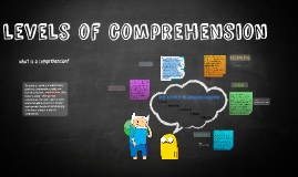 Copy of 4 levels of comprehension
