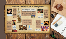 Generos Literarios de la Antiguedad