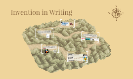 Invention in Writing