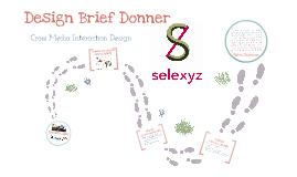 Design Brief Donner