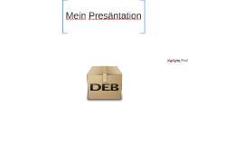 Mein Presäntation