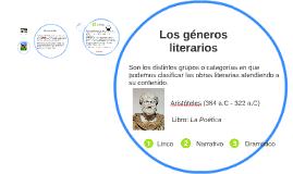 Copy of Los géneros literarios