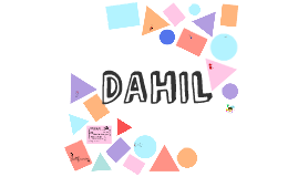 Dahil - anteproyecto