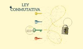 LEY CONMUTATIVA