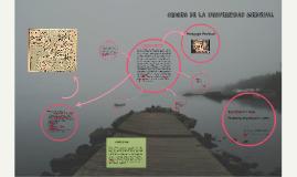 Copy of ORIGEN DE LA UNIVERSIDAD MEDIEVAL
