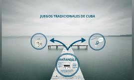 Juegos tradicionales de Cuba