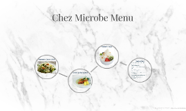Chez Microbe Menu