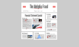 The Adelphia Fraud