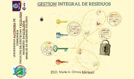GESTION INTEGRAL DE RESIDUOS