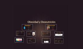 Obesidad y Desnutrición
