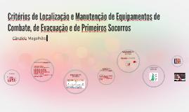 Critérios de Localização e Manutenção de Equipamentos de Com