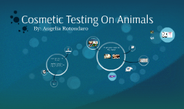 Cosmetic Testing On Animals