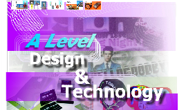 A Level Design and Technology Options