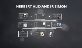 BIOGRAFIA DE HERBERT ALEXANDER SIMON