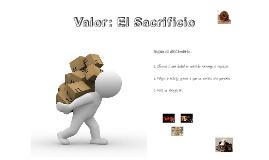 Valor: El Sacrificio (primaria)