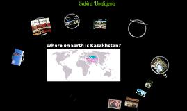 My home Kazakhstan by Sabira Uvaliyeva