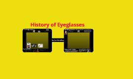 History of Eyeglasses